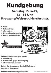 Kundgebung Weise/Herrfurth